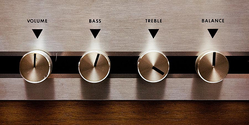 Bass Treble Controls