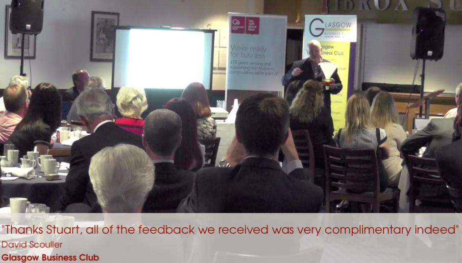 Glasgow Business Club Testimonial